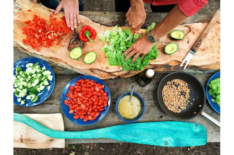 Actively preparing or watching others prepare food can lead to eating more
