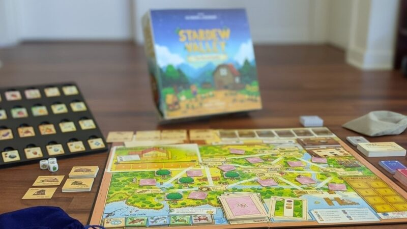 Stardew Valley's official board game adaptation looks delightful in reveal trailer